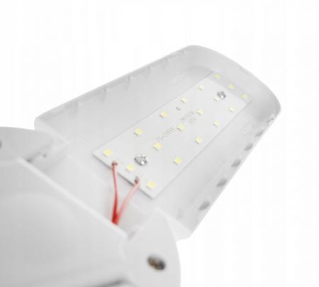 Bec LED pliabil  tip candelabru cu trei brate E27 45W 6500K [2]