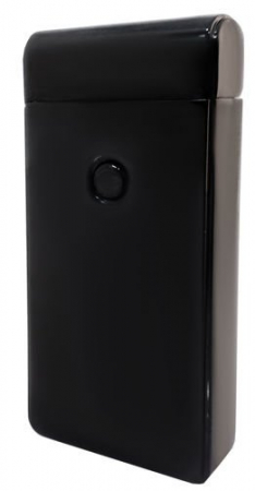 Bricheta electrica antivant, 5V, incarcare USB, Neagra cutie cadou inclusa [3]
