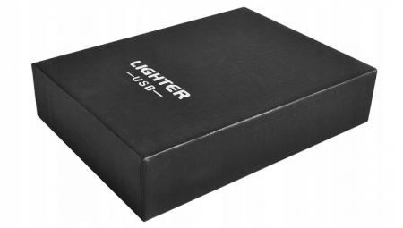 Bricheta electrica antivant, 5V, incarcare USB, Neagra cutie cadou inclusa [6]