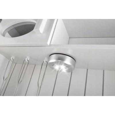 Bucatarie de jucarie pentru copii 93x43.5x28.5 cm din lemn lampa LED  ustensile4