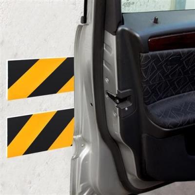 Burete de protectie a usilor de masina reflectorizant 10x50 cm pentru garaj 10 bucati0