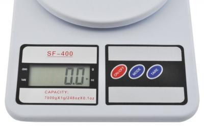 Cantar de bucatarie afisaj LCD 0.6 inch  functie Tara  capacitate maxima 7 kg cu ambalaj deteriorat Resigilat! [2]