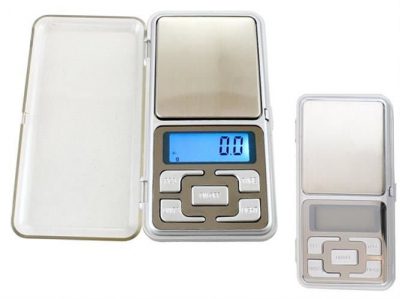 Cantar Electronic Mini  500g, Precizie de 0,1 g cu Functie Tara [4]