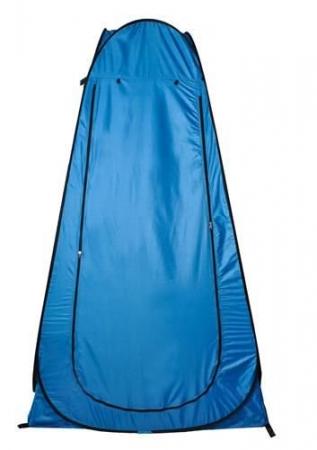 Cort dus camping toaleta garderoba  albastru dimensiune 110x 190 cm [2]