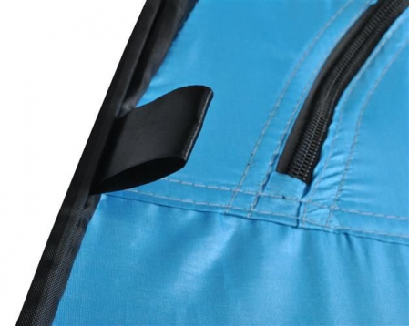 Cort dus camping toaleta garderoba  albastru dimensiune 110x 190 cm [7]