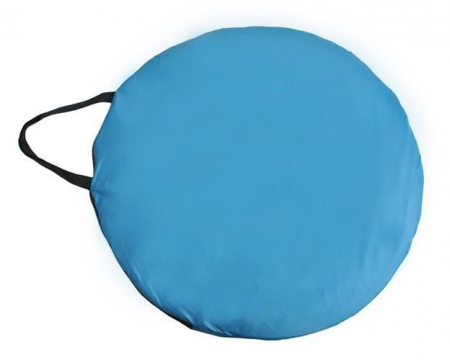 Cort dus camping toaleta garderoba  albastru dimensiune 110x 190 cm [11]