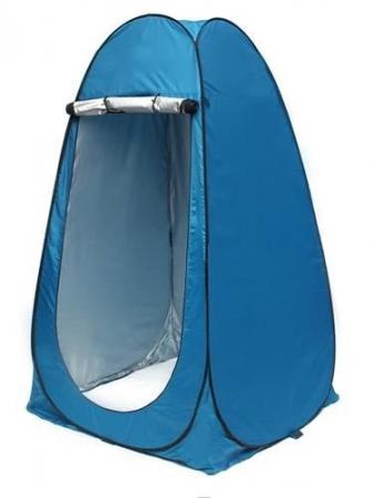 Cort dus camping toaleta garderoba  albastru dimensiune 110x 190 cm [1]