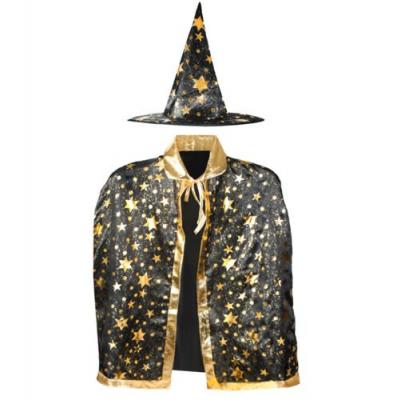 Costum de vrajitor cu palarie si mantie [0]