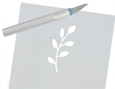 Cuțite de modelat precise de artizanat tip bisturiu lame de modelat cu banda magnetica - set 16 buc cutie10