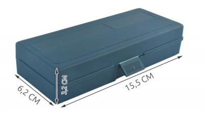 Cuțite de modelat precise de artizanat tip bisturiu lame de modelat cu banda magnetica - set 16 buc cutie12