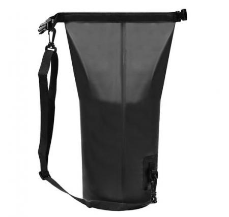 Geanta impermeabila de mare Dry-Bag 20 litri 55 x 37cm neagra [5]