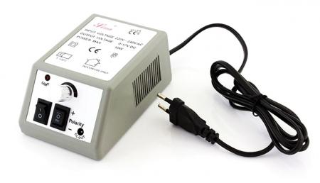 Freza Electrica pentru Unghii 6 Capete si 10 Inele Abrazive Viteza Reglabila pentru Manichiura [1]