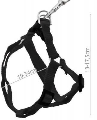 Ham Reglabil si Lesa Detasabila pentru Caini sau Animale de Companie, Culoare Negru, Lungime Lesa 122cm [7]