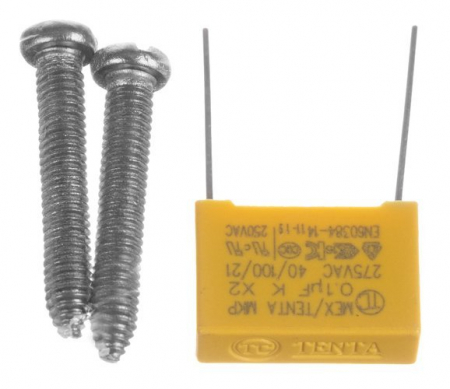 Intrerupator Single touch,  Sticla, 8.6 x 8.6 x 3.3 cm, Alb [5]