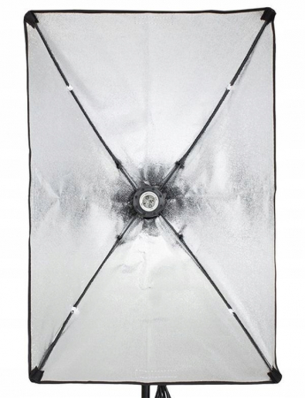 Kit Lumina Continua Softbox 70x50cm pentru Studio Foto cu 1 filtru difuzie si Suport Trepied Reglabil 78-230cm [1]