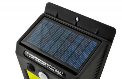 Lampa solara de perete cu 48 de leduri cu senzor de lumina si miscare [5]