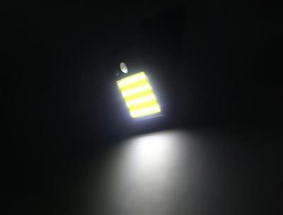 Lampa solara de perete cu 48 de leduri cu senzor de lumina si miscare [7]