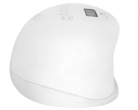 Lampa LED UV  unghii profesionala pentru manichiura, 36 LED-uri, cu senzor de miscare si timer, 72w, alb 10 clipsuri gel gratuit [4]