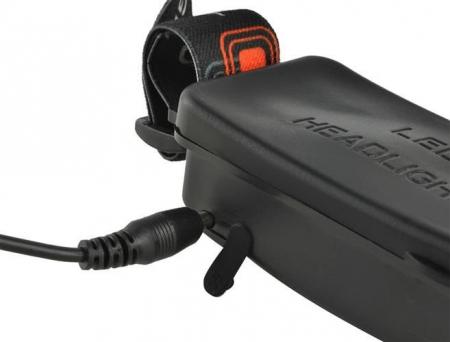 Lanterna de cap frontala CREE 3 leduri reincarcabila 220V +12V + reglabila 4 moduri3
