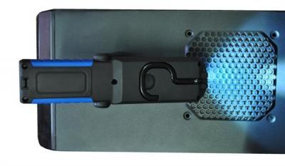 Lanterna led de lucru pentru atelier 3W cu suport magnetic si carlig lampa [11]