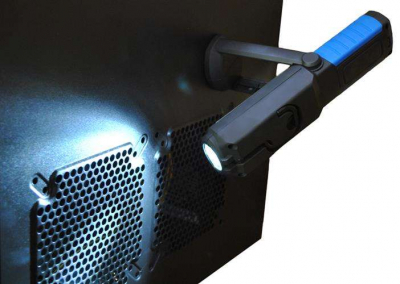 Lanterna led de lucru pentru atelier 3W cu suport magnetic si carlig lampa12