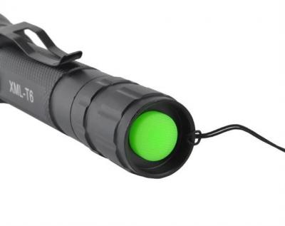 Lanterna LED CREE, vizibilitate 300 m, zoom x2000, acumulator 4800 mAh [11]