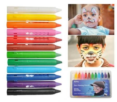 Make up pictura fata copii petrecere set 12 culori non alergice [0]