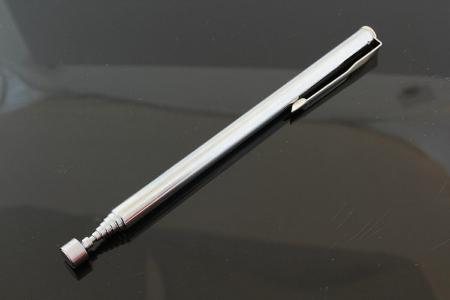Maner magnetic universal  recuperator telescopic de până la 65 cm lungime cromat [1]