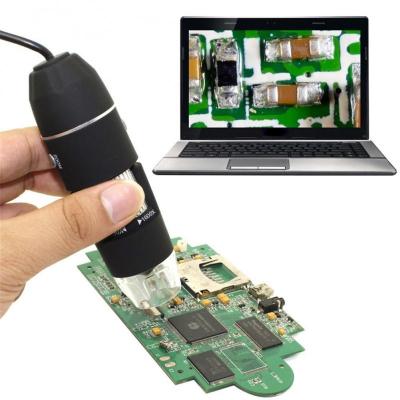 Microscop digital portabil 1600X, USB, foto-video, 8 LED-uri, zoom digital 5X [4]