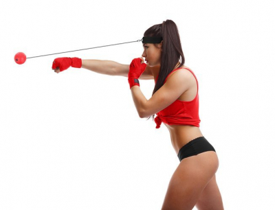 Minge reflex pentru fitness, antrenament box si dezvoltarea reflexelor, pentru adulti si copii [0]