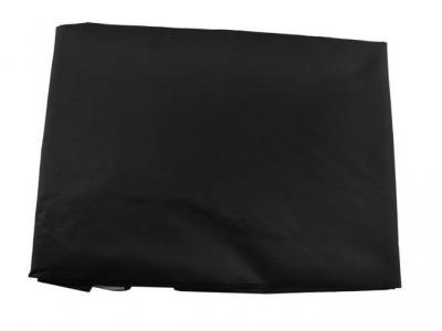 Pelerina pentru coafor, impermeabila, prindere cordon, 100x140 cm, negru [4]
