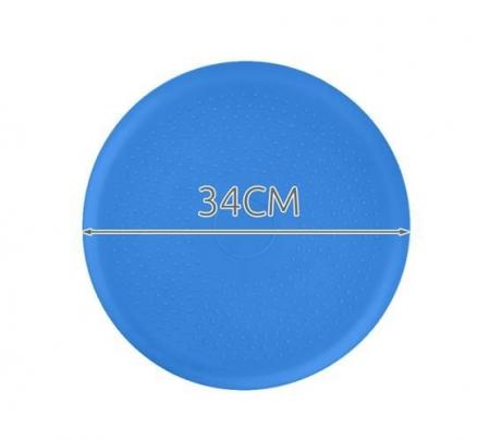Perna pentru echilibru si masaj gonflabila, cu pompa, diametru 34 cm, albastru [9]