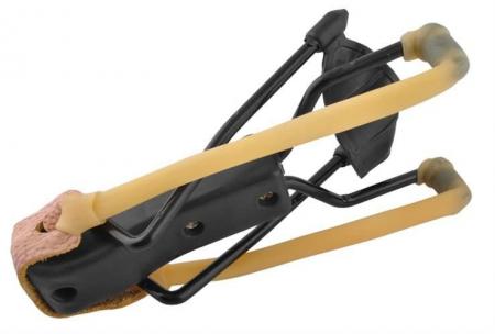 Prastie metal cu maner antiderapant cu suport antebrat si corzi elastice [5]