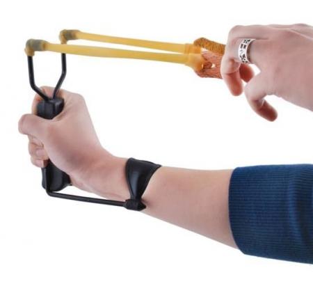 Prastie metal cu maner antiderapant cu suport antebrat si corzi elastice [11]