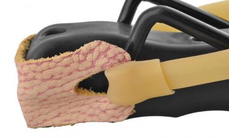 Prastie metal cu maner antiderapant cu suport antebrat si corzi elastice [8]