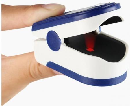Pulsoximetru Monitor puls , saturația oxigenului din sânge si indicele de perfuzie3