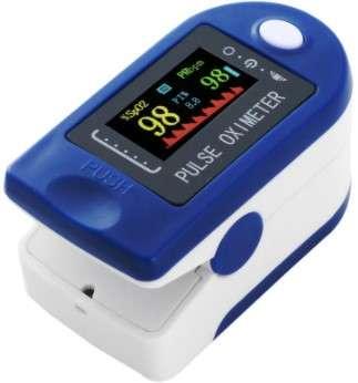 Pulsoximetru Monitor puls , saturația oxigenului din sânge si indicele de perfuzie1