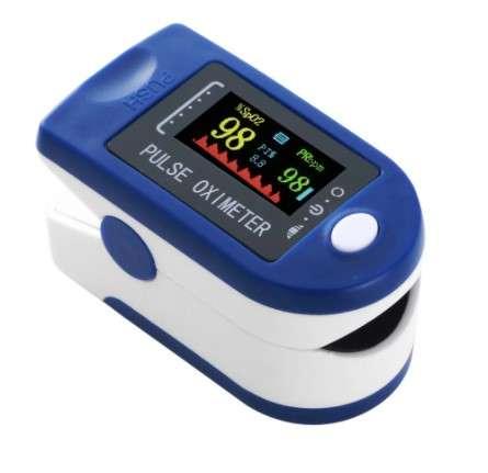 Pulsoximetru Monitor puls , saturația oxigenului din sânge si indicele de perfuzie0