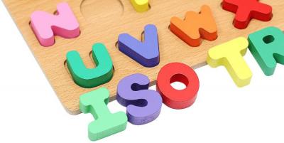 Puzzle Alfabet Complet pentru Copii ABC din Lemn Natural, Interactiv si Educativ [3]