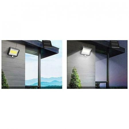 Reflector solar 100 LED-URI, Senzor de miscare  Raza 5 M, IP65 [8]