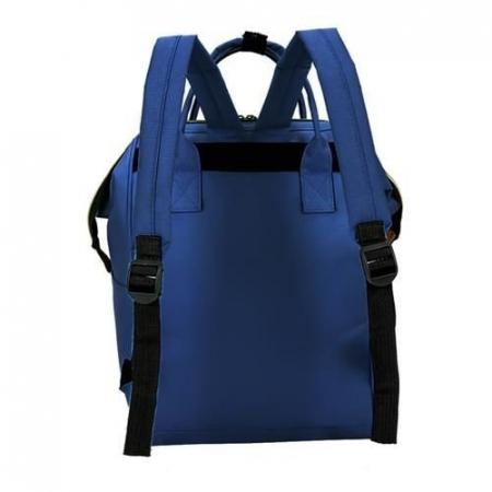 Rucsac geanta multifunctionala pentru mamici, Living Traveling atasabil la carucior, organizator articole,Albastru Inchis [8]