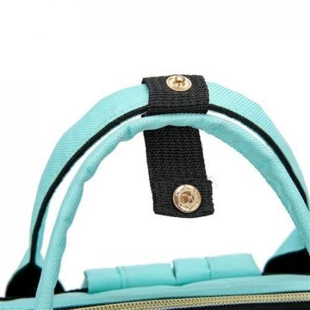 Rucsac geanta multifunctionala pentru mamici Living Traveling atasabil la carucior organizator articole bleu [4]