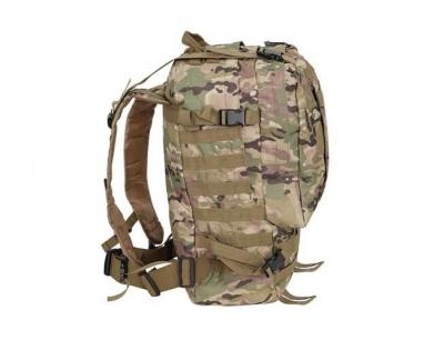 Rucsac militar 45L, 2 deschideri, 3 buzunare de camuflaj camping trekking [11]