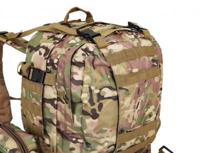 Rucsac militar 45L, 2 deschideri, 3 buzunare de camuflaj camping trekking [9]