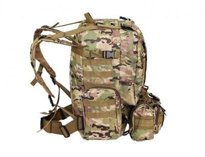 Rucsac militar 45L, 2 deschideri, 3 buzunare de camuflaj camping trekking [4]
