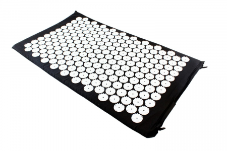 Saltea cu acupunctura si masaj 74x43 cm culoare negru [0]