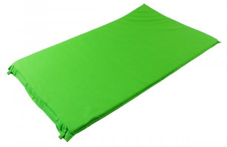 Saltea cu acupunctura si masaj ideala pentru dureri de spate relaxare oboseala 73x44 cm culoare verde [2]