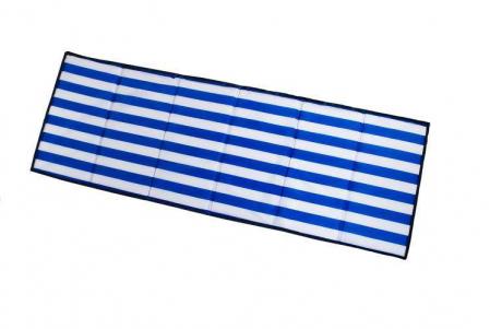 Saltea pliabila pentru plaja sau picnic Impermeabila, poliester, Albastru [2]