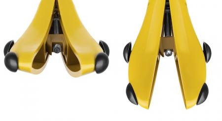 Set 2 sanuri reglabile pentru pantofi, cu arc din ABS , marimea 40-47 [8]