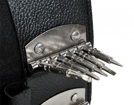 Set surubelnite de precizie 24 biti torx din otel  mini cu trusa depozitare si slot magnetic [6]